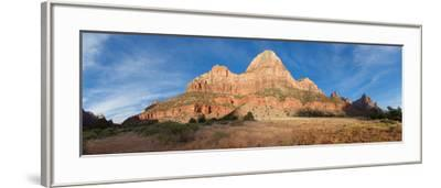 Panorama, USA, Zion National Park-Catharina Lux-Framed Photographic Print