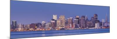 Skyline of San Francisco from Treasure Iceland, California, Usa-Rainer Mirau-Mounted Photographic Print