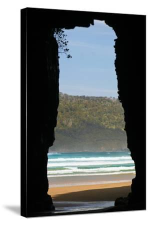New Zealand, South Island, Cathedral Cave-Catharina Lux-Stretched Canvas Print