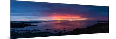 Panorama, Akranes, Sunset-Catharina Lux-Mounted Photographic Print