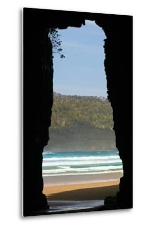 New Zealand, South Island, Cathedral Cave-Catharina Lux-Metal Print