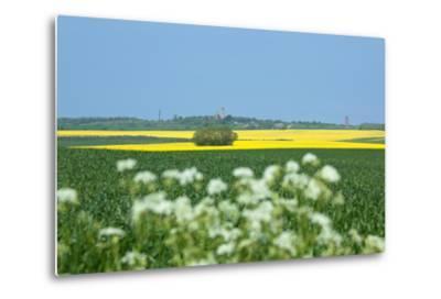 The Baltic Sea, RŸgen, Cape Arkona, Lighthouses, Summer-Catharina Lux-Metal Print