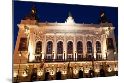 Berlin, Theater Der Westens, Dusk-Catharina Lux-Mounted Photographic Print