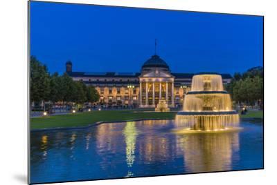 Germany, Hesse, Rheingau Region, Wiesbaden, Health Resort-Udo Siebig-Mounted Photographic Print