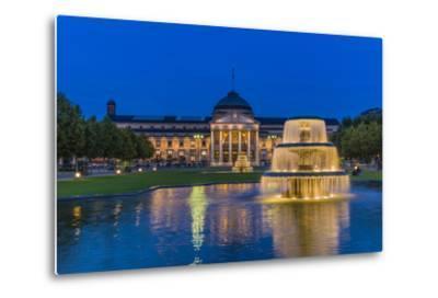 Germany, Hesse, Rheingau Region, Wiesbaden, Health Resort-Udo Siebig-Metal Print