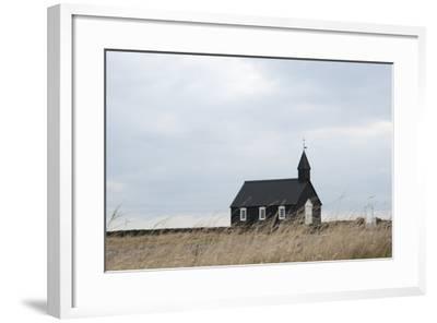Church of Budir, Snaefellsnes, West Iceland-Julia Wellner-Framed Photographic Print