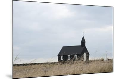 Church of Budir, Snaefellsnes, West Iceland-Julia Wellner-Mounted Photographic Print