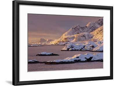 Moskenesoya, Lofoten, 'Nordland' (County), Norway-Rainer Mirau-Framed Photographic Print