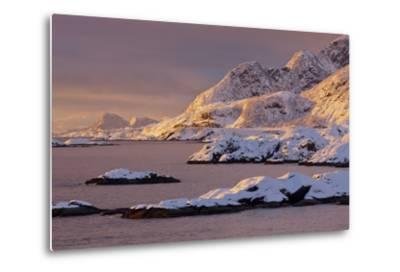 Moskenesoya, Lofoten, 'Nordland' (County), Norway-Rainer Mirau-Metal Print
