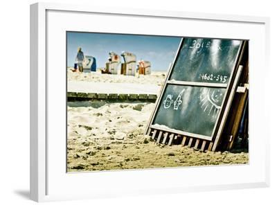 Germany, Schleswig-Holstein, Amrum, Norddorf, Beach-Ingo Boelter-Framed Photographic Print