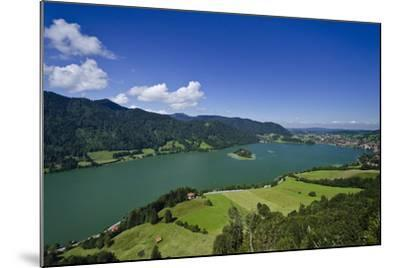 Germany, Bavaria, Upper Bavaria, Mangfall (Mountain Range), Schliersee (Village)-Udo Siebig-Mounted Photographic Print