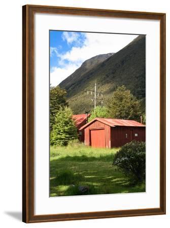 New Zealand, South Island, Arthur's Pass National Park, Barn-Catharina Lux-Framed Photographic Print