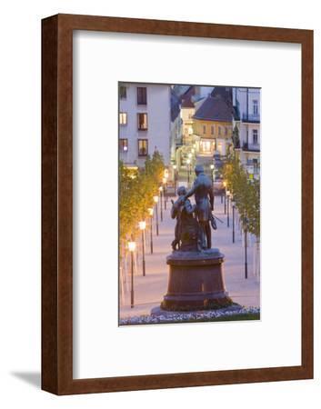 Austria, Lower Austria, Baden Near Vienna, Thermal Bath, Health Resort Park-Rainer Mirau-Framed Photographic Print