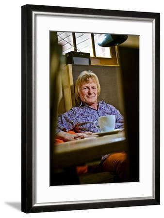 Germany, Hamburg, EimsbŸttel, Iconic Bar 'Villa Im Park', Boss Kai-Jo-Ingo Boelter-Framed Photographic Print