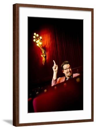 Germany, Hamburg, St Pauli, Reeperbahn, Schmidt Theater, Employee-Ingo Boelter-Framed Photographic Print