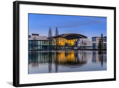 Germany, Bavaria, Upper Bavaria, Munich, Messestadt Riem-Udo Siebig-Framed Photographic Print