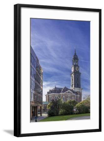 Germany, Hamburg, Neustadt, Church, St. Michaelis, Michel-Ingo Boelter-Framed Photographic Print