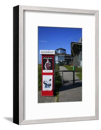 Sylt Quelle' (Restaurant) with 'Meerkabarett' (Theater-Uwe Steffens-Framed Photographic Print