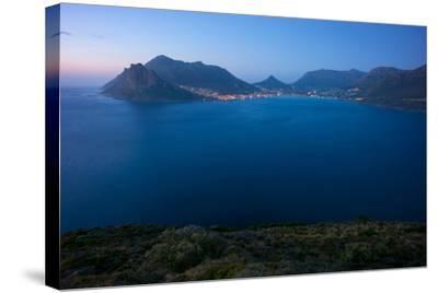 South Africa, Cape Peninsula, Hout Bay, Dusk-Catharina Lux-Stretched Canvas Print