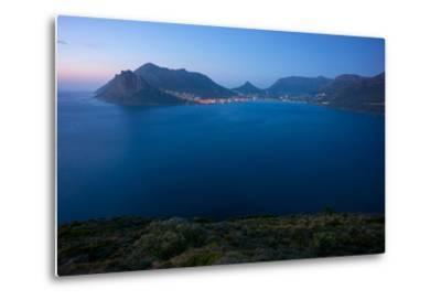 South Africa, Cape Peninsula, Hout Bay, Dusk-Catharina Lux-Metal Print