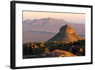 South Africa, Camdeboo, Valley of Desolation-Catharina Lux-Framed Photographic Print