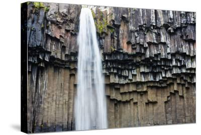 Skaftafell National Park, Svartifoss-Catharina Lux-Stretched Canvas Print