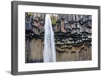 Skaftafell National Park, Svartifoss-Catharina Lux-Framed Photographic Print