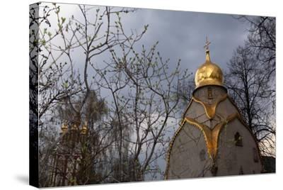 Moscow, Novodevichy Convent, Biggest Cloister in Moscow-Catharina Lux-Stretched Canvas Print