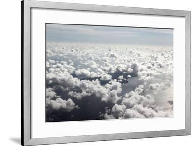 Indian Ocean, Aerial Shot, Approach on the Seychelles-Catharina Lux-Framed Photographic Print