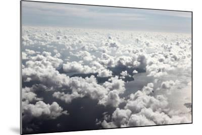 Indian Ocean, Aerial Shot, Approach on the Seychelles-Catharina Lux-Mounted Photographic Print
