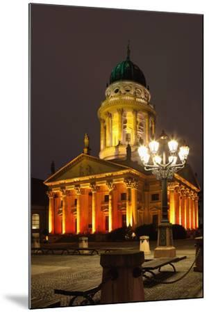 Berlin, Gendarmenmarkt, Night Photography-Catharina Lux-Mounted Photographic Print