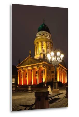 Berlin, Gendarmenmarkt, Night Photography-Catharina Lux-Metal Print