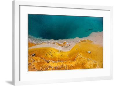 USA, Yellowstone National Park, West Thumb Geyser Basin, Black Pool-Catharina Lux-Framed Photographic Print