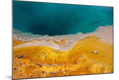 USA, Yellowstone National Park, West Thumb Geyser Basin, Black Pool-Catharina Lux-Mounted Photographic Print