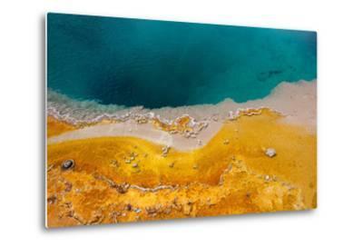 USA, Yellowstone National Park, West Thumb Geyser Basin, Black Pool-Catharina Lux-Metal Print