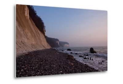 The Baltic Sea, National Park Jasmund, Chalk Rocks-Catharina Lux-Metal Print