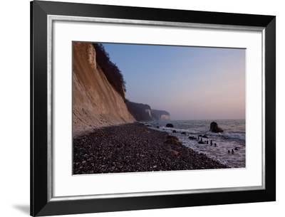 The Baltic Sea, National Park Jasmund, Chalk Rocks-Catharina Lux-Framed Photographic Print