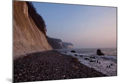 The Baltic Sea, National Park Jasmund, Chalk Rocks-Catharina Lux-Mounted Photographic Print