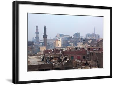 Egypt, Cairo, Islamic Old Town, Garbage Problem-Catharina Lux-Framed Photographic Print