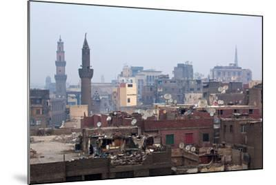 Egypt, Cairo, Islamic Old Town, Garbage Problem-Catharina Lux-Mounted Photographic Print