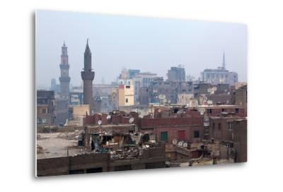 Egypt, Cairo, Islamic Old Town, Garbage Problem-Catharina Lux-Metal Print