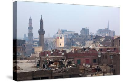 Egypt, Cairo, Islamic Old Town, Garbage Problem-Catharina Lux-Stretched Canvas Print