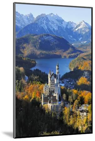 Germany, Bavaria, Allg?u, Neuschwanstein Castle-Herbert Kehrer-Mounted Photographic Print