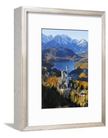 Germany, Bavaria, Allg?u, Neuschwanstein Castle-Herbert Kehrer-Framed Photographic Print