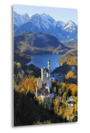 Germany, Bavaria, Allg?u, Neuschwanstein Castle-Herbert Kehrer-Metal Print
