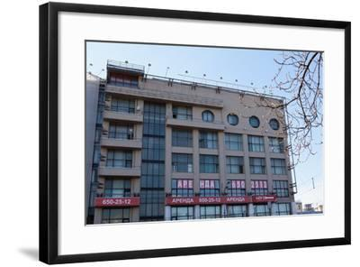 Moscow, Architectural Monument, Constructivism-Catharina Lux-Framed Photographic Print