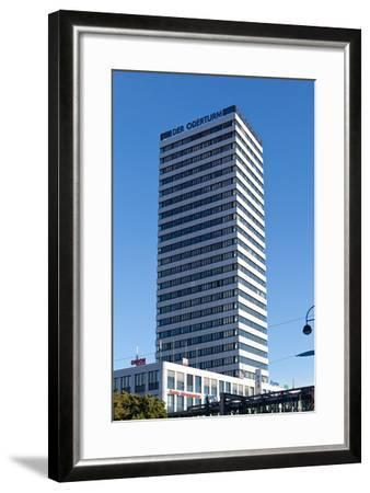 Germany, Brandenburg, Oder-Neisse Cycle Route, Frankfurt / Oder, Oderturm-Catharina Lux-Framed Photographic Print