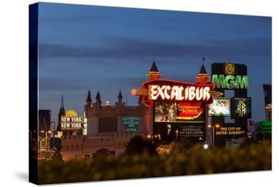 USA, Las Vegas, the Strip, Neon Lights-Catharina Lux-Stretched Canvas Print