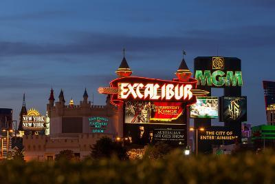 USA, Las Vegas, the Strip, Neon Lights-Catharina Lux-Photographic Print
