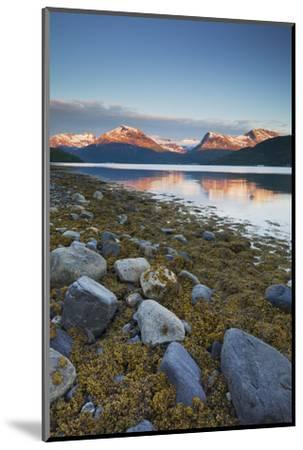 Norway, Nordland, Gratangen Fjord, Dudalstinden, Rock-Rainer Mirau-Mounted Photographic Print